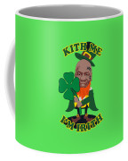 Kith Me I'm Irith Funny Novelty Mike Tyson Inspired Design For St Patrick's Day Coffee Mug