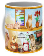 Kitten Hideout Coffee Mug