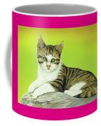 Kitten On Rock Coffee Mug