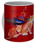 Kittens On The Beach Coffee Mug