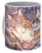 Kittens Sleeping Coffee Mug