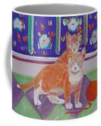 Kittens With Wild Wool Coffee Mug