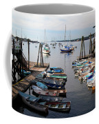 Kittery Point Fishing Boats Coffee Mug