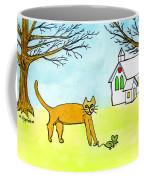 Kitty And The Mouse Coffee Mug