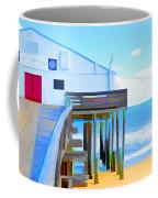 Kitty Hawk Pier 2 Coffee Mug