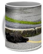 Kitty In The Street Coffee Mug