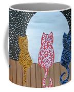 Kitty Moon Rise Coffee Mug