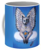 Kitty Yin Yang- Cat Angel Coffee Mug