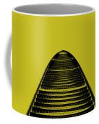 Kk100 Shenzhen Skyscraper Art Yellow Coffee Mug
