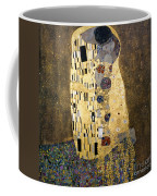 Klimt: The Kiss, 1907-08 Coffee Mug