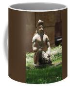 Kneeling Monkey Coffee Mug