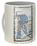 Knight And Monster Coffee Mug