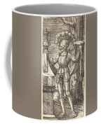 Knight In Armour With Bread And Wine Coffee Mug