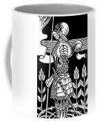 Knight Of Arthur, Preparing To Go Into Battle Coffee Mug