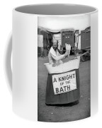 Knight Of The Bath Coffee Mug
