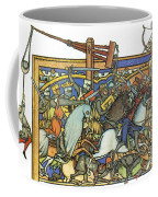 Knights Templar 13th Century Coffee Mug