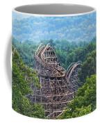 Knobels Wooden Roller Coaster  Coffee Mug