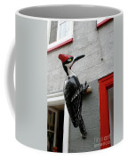 Knock On The Wall Coffee Mug