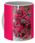 Knockout Red Rosebush Coffee Mug
