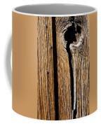 Knot Hole Coffee Mug