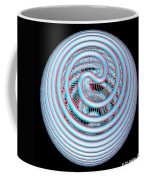 Knotplot 4 - Use Red-cyan 3d Glasses Coffee Mug