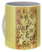Knots And Buttons Coffee Mug