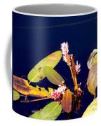 Knotweed On Deep Blue Coffee Mug