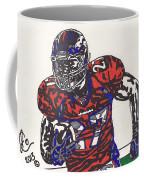 Knowshon Moreno 2 Coffee Mug by Jeremiah Colley