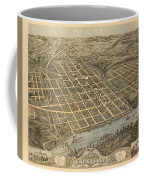 Knoxville Tennessee 1871 Coffee Mug
