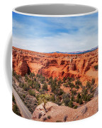 Kodachrome Basin State Park Panorama Coffee Mug