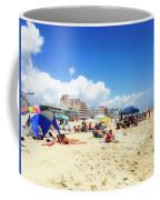 Blue Sky Day In Ocean City Coffee Mug
