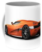 Koenigsegg Ccx Orange Coffee Mug