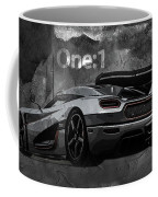 Koenigsegg One-1 Coffee Mug