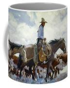 Koerner: Cowboy, 1920 Coffee Mug