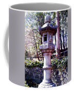Koi Pond Statue Coffee Mug