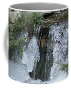 Koi Pond Waterfall Coffee Mug