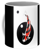 Koi Showa Circles Nishikoi Painting Coffee Mug