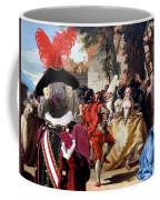 Komondor Art Canvas Print - The Carnival Dance Coffee Mug