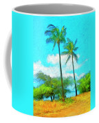 Kona Palms Coffee Mug