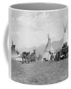 Kootenai First Nations Camp, C.1920-30s Coffee Mug