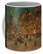 Korovin, Konstantin 1861-1939 Les Grands Boulevards, Paris Coffee Mug