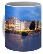 Krakow Main Square By Night Coffee Mug
