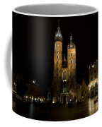 Krakow Saint Marys Basilica Coffee Mug