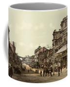 Krestchatik Street In Kiev - Ukraine - Ca 1900 Coffee Mug