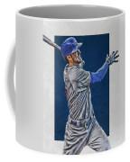 Kris Bryant Chicago Cubs Art 3 Coffee Mug