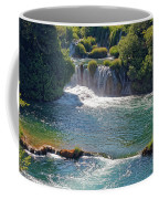 Krka National Park Waterfalls 5 Coffee Mug