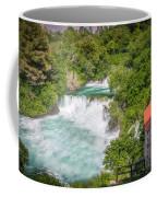 Krka Waterfall Croatia Coffee Mug