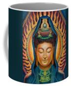Kuan Yin Flame Coffee Mug