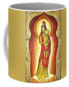 Kuan Yin Lotus Coffee Mug