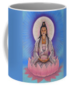 Kuan Yin Coffee Mug by Sue Halstenberg